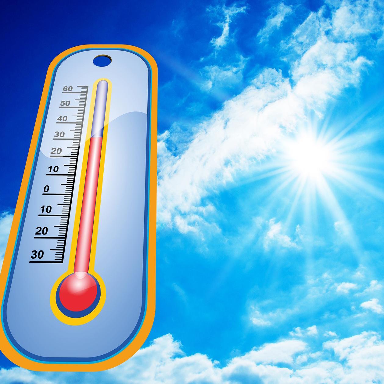 Sonne für Kühlung