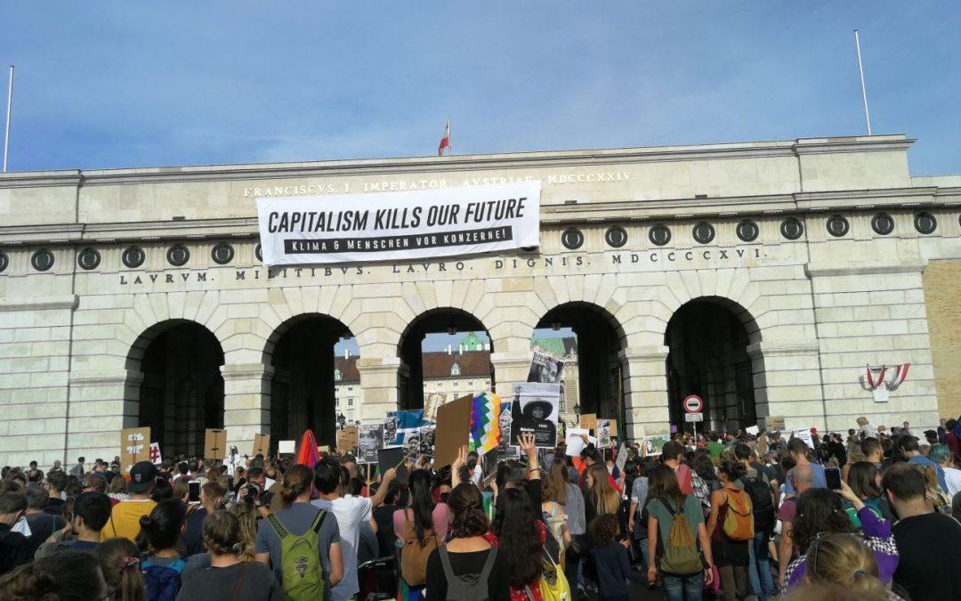 Klimastreiks in Wien